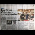 Jean-Philippe Watteyne chez le meilleur chocolatier