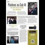 Plaidoyer au Club 44