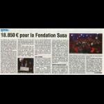18.850€ pour la Fondation Susa