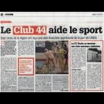 Le Club 44 aide le sport