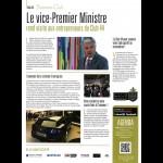 Le vice-Premier Ministre rend visite aux entrepreneurs du Club 44