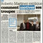 Roberto Martinez explique comment motiver ses troupes