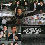 Le Club 44 reçoit Paris Match