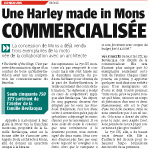 Une Harley made in Mons commercialisée