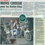 Mons choisie pour les Harley days